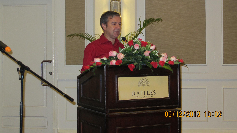 Etere Presentation in Cambodia Seminar