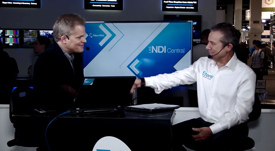 Guest Interview with Etere at NewTek NDI Central Live
