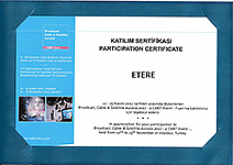 Certificate of Participation Broadcast Cable & Satellite